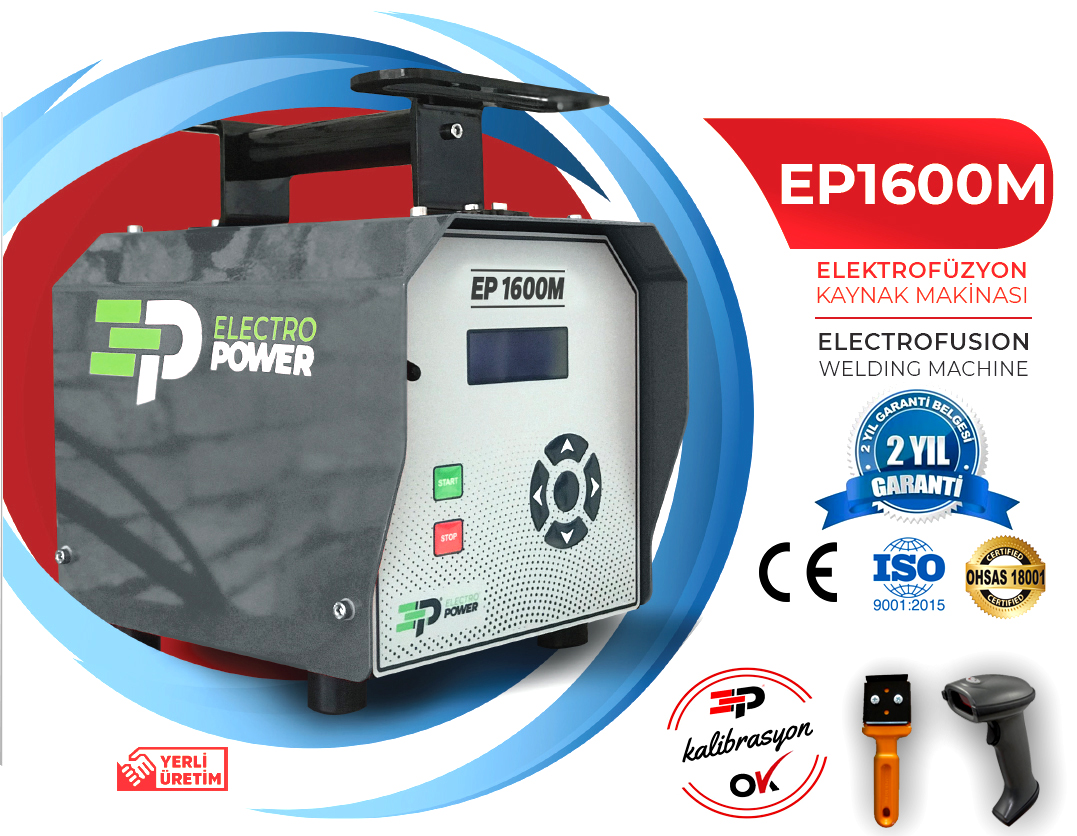 ep1600 elektrofüzyon
